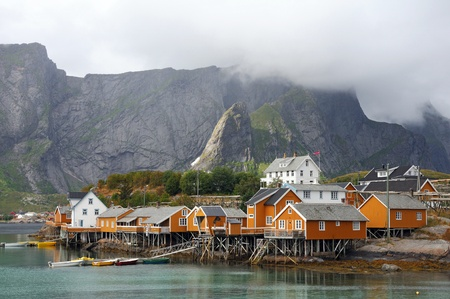costal: Lofoten in northern Norway