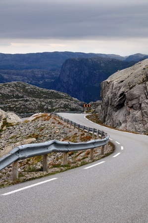Road, Norway Stock Photo - 13783453