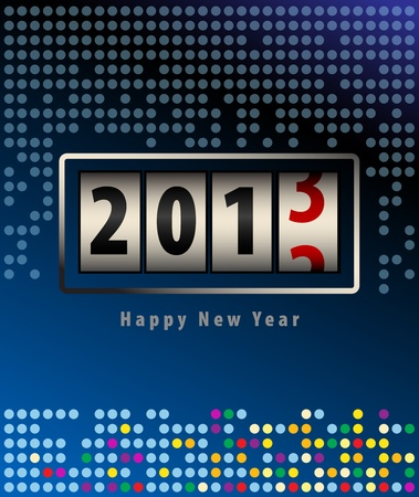 New year background Stock Vector - 13796164