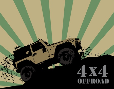 illustration technique: Offroad