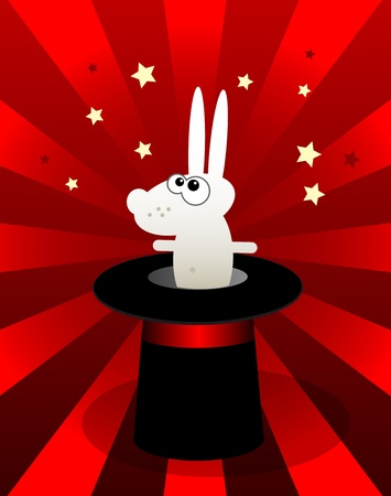 magic hat: Bunny in Magic hat