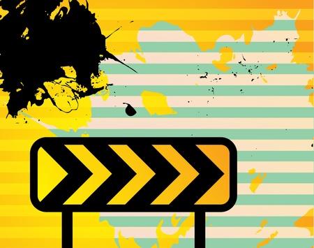 rebuild: Abstract grunge background