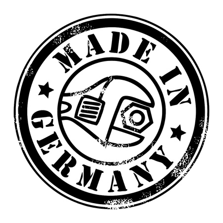 Made in Germany grunge style stamp Vector
