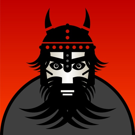 barbarian: Viking warrior