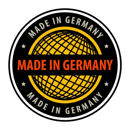 Made in germany label Stock Vector - 13946191