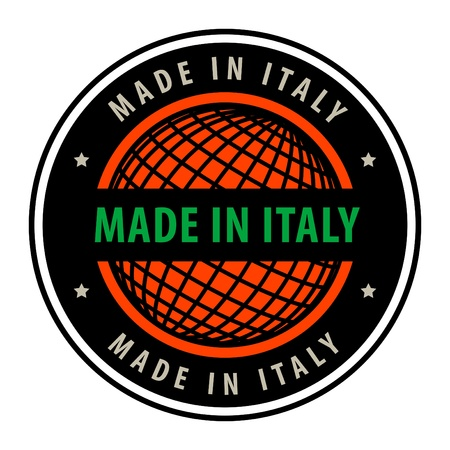 Made in italy label Stock Vector - 13946181