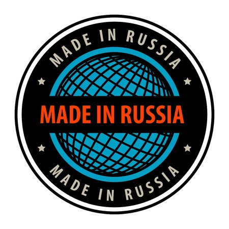 made in russia: Made in Russia label