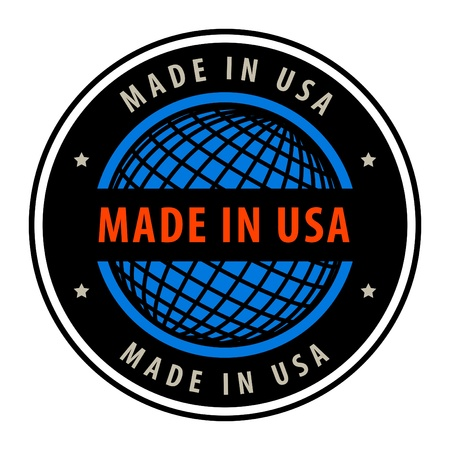 Made in USA label Stock Vector - 13946184