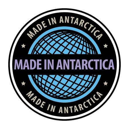 antartide: Made in Antartide Vettoriali