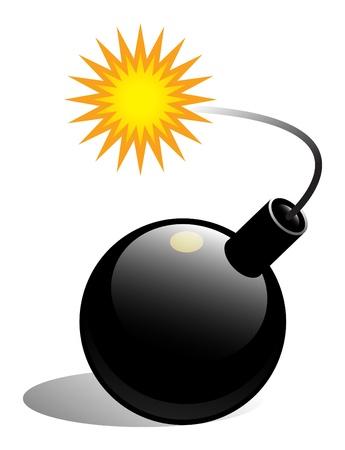 Bomb Stock Vector - 13973090