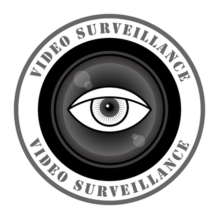 surveillance symbol: Video surveillance sign