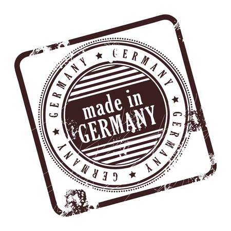Grunge rubber stamp made in Germany Stock Vector - 14170021