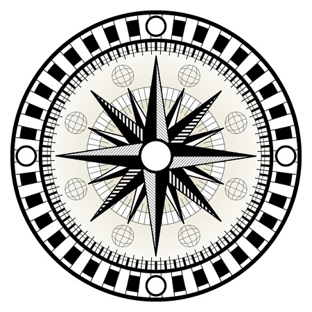 Compass Stock Vector - 14311375