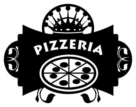Pizzeria sign Stock Vector - 14311408