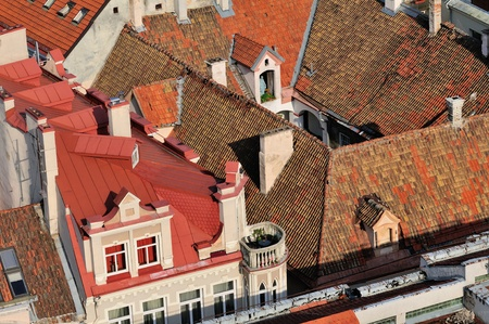 bird s eye: Bird s Eye View on the Vilnius, Lithuania