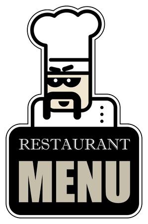 Restaurant Menu label Stock Vector - 14369053