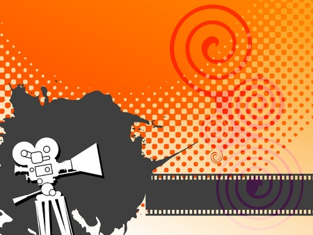 cinema film: Abstract cinema background