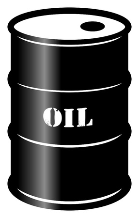 Oil barrel Stock Vector - 14513553