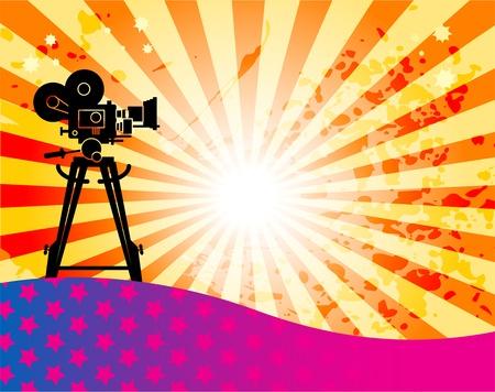 camara de cine: Resumen de antecedentes de cine