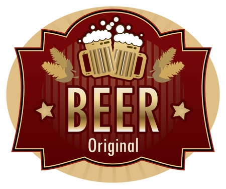 Beer label Stock Vector - 14513581