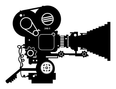 rarity: Retro film cinema camera