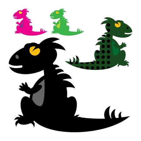 baby dragon: Dinosaur