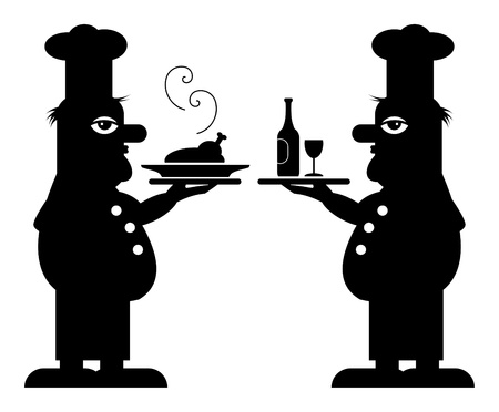 Two Chefs Vector