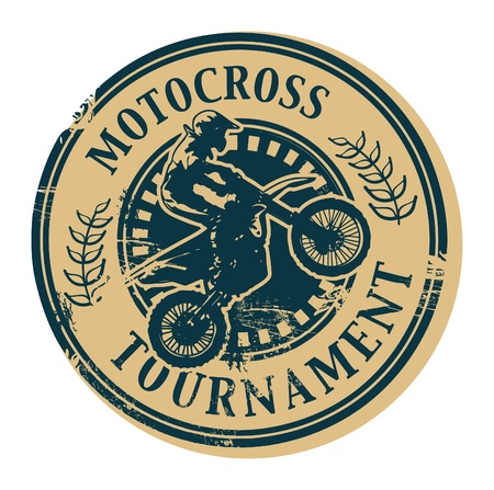 motocross riders: advertisement, advertising, beef, best, big, biggest, blank, burger, business, buy, classic, concept, design, dirty, genuine, grill, grunge, grungy, hamburger, icon, ink, insignia, label, mark, market, menu, original, postage, price, print, product, promo Illustration