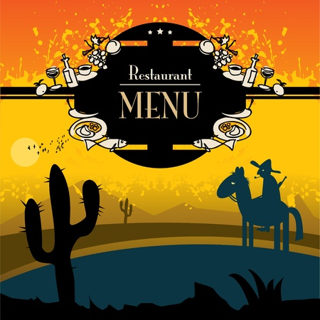 mexican restaurant: Restaurant menu