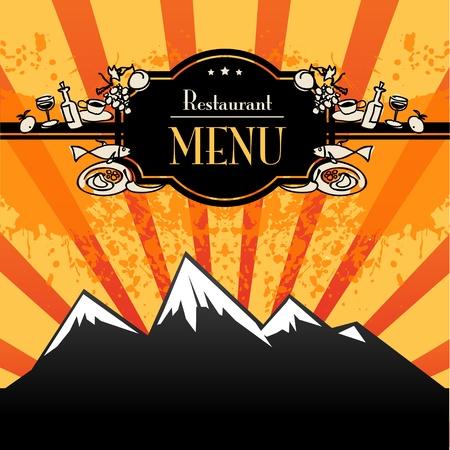 Restaurant menu Stock Vector - 14666379