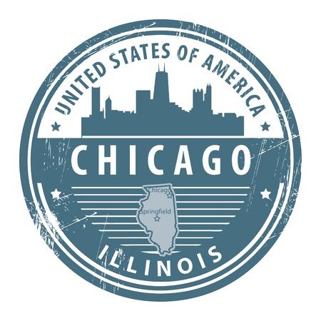 일리노이, 시카고의 이름을 가진 그런 지 도장