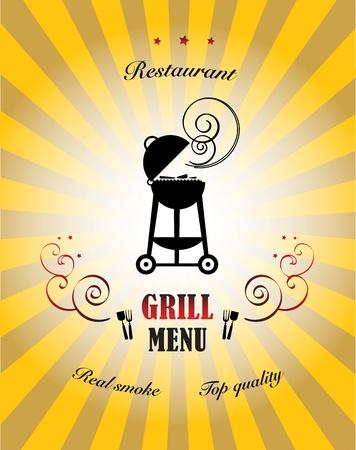 junkfood: Grill Menu