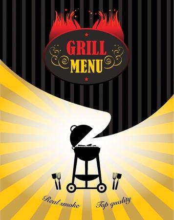 barbecue: Menu Grill