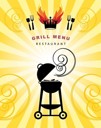 barbecue pork barbecue: Grill Menu