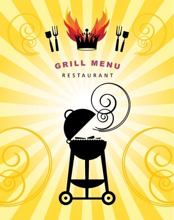 bbq grill: Grill Menu