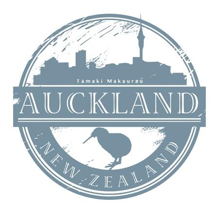 Auckland, Nieuw-Zeeland stempel