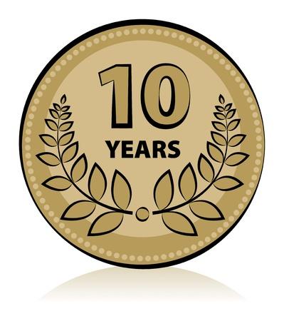 anniversary party: Label 10 anniversary