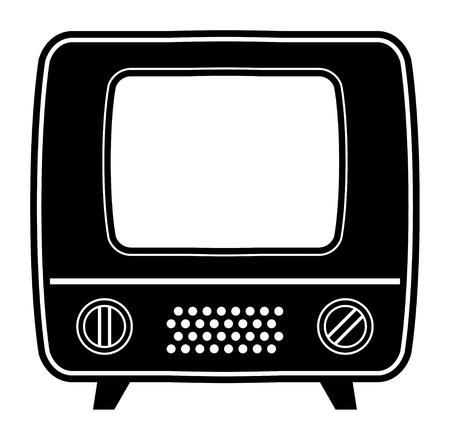 old tv: Retro tv icon