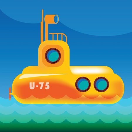 submarine: Yellow submarine