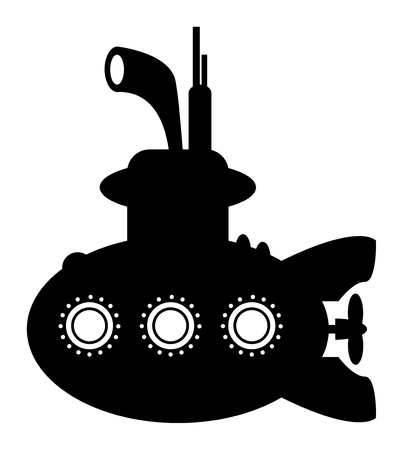 Submarine sign Stock Vector - 17300429