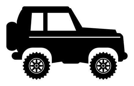 Off-road vehicle Stock Vector - 17348053
