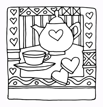Hand drawn restaurant menu design Stock Vector - 17843780
