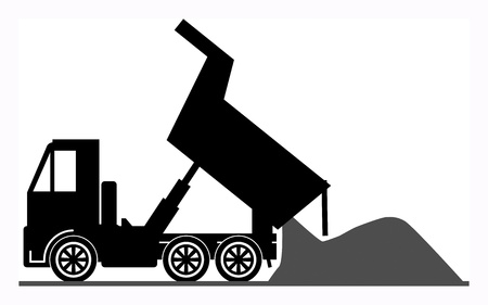 çöplük: Damperli kamyon