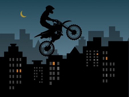 x games: Motocross in urban jungle