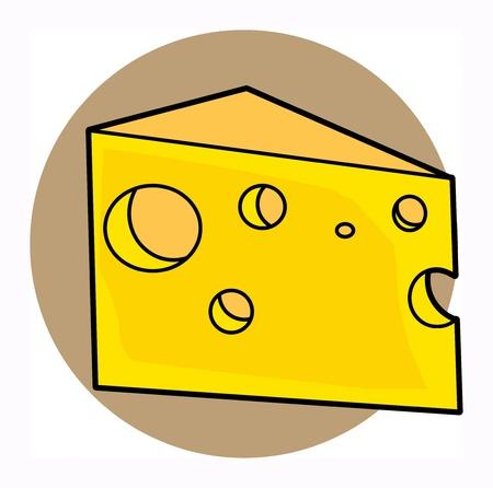 Cheese Stock Vector - 17843835