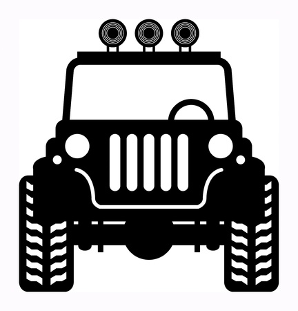 offroad car: Off-road vehicle