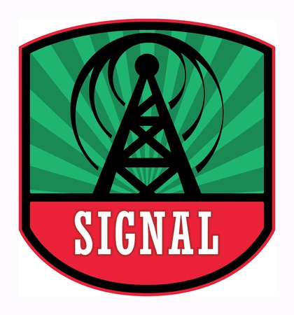 wi fi icon: Signal label