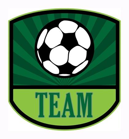 club soccer: Football team label