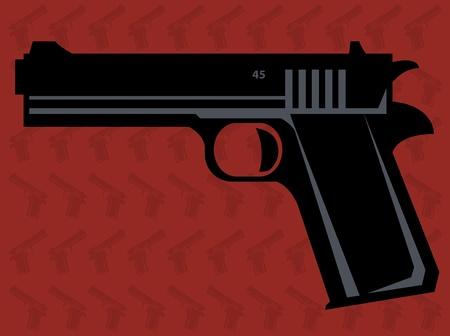 Gun Stock Vector - 18230756