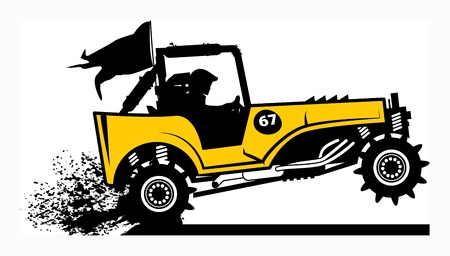 Off-road buggy Vector